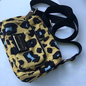 Betsey Johnson Cross Body bag yellow and